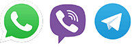 viber whatsapp telegram
