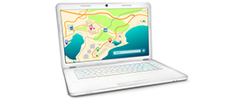 Как использовать ноутбук в качестве навигатора