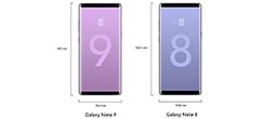 Сравнение смартфонов Samsung Galaxy Note 9 и Galaxy Note 8
