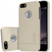 Чехол Nillkin Matte для Apple iPhone 5/5S/SE (+ пленка) Золотой