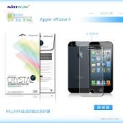 Защитная пленка Nillkin Crystal для Apple iPhone 5/5S/5C/SE Анти-отпечатки