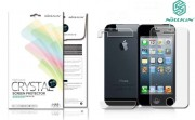 Защитная пленка Nillkin Crystal (на обе стороны(задняя низ+верх)) для Apple iPhone 5/5S/SE Анти-отпечатки