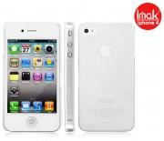 Пластиковая накладка IMAK 0,7 mm Color series для Apple iPhone 4/4S Бесцветный (матовый) 6115