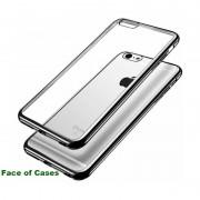 TPU чехол Mercury Ring 2 для Apple iPhone 5/5S/SE Серебряный 16783