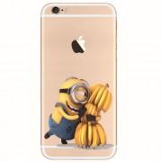 TPU чехол Ultrathin Series 0,33mm Миньоны для Apple iPhone 6/6s (4.7