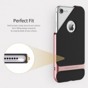 TPU+PC чехол Rock Royce Series для Apple iPhone 7 plus (5.5