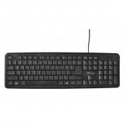 Trust Ziva Keyboard UKR (21656)
