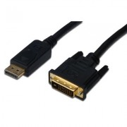 Display Port to DVI 24+1pin, 2.0m ASSMANN (AK-340306-020-S)