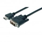 HDMI to DVI 18+1pin M, 2.0m ASSMANN (AK-330300-020-S)