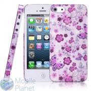 Чехол Apple iPhone 5 Baseus Romance Flowers Case