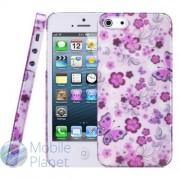 Накладка iPhone 5 Baseus Romance Flowers Case