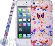 Накладка iPhone 5 Baseus Romance Love Case