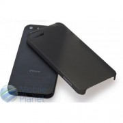 Накладка iPhone 5 GGMM Jelly Прозрачно-белый Прозрачно-черный Лимонный Малиновый Серебряный Синий