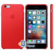 Аксессуар для iPhone Apple Leather Case PRODUCT RED (MKXG2) for iPhone 6s Plus