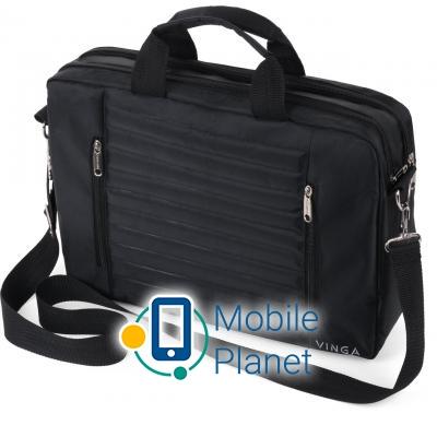 e0fcf9696153 Купить Сумка для ноутбука Vinga 15.6 NB195BK black (NB195BK) в ...