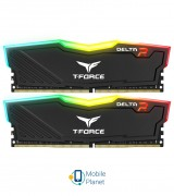 DDR4 2x4GB/2400 Team T-Force Delta Black RGB (TF3D48G2400HC15BDC01)