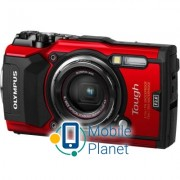 OLYMPUS TG-5 Red (Waterproof - 15m- GPS- 4K- Wi-Fi) (V104190RE000)