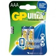 GP AAA LR03 Ultra Plus Alcaline * 2 (GP24AUP-2UE2)