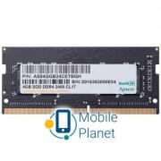 SoDIMM DDR4 8GB 2400 MHz Apacer (ES.08G2T.GFH)