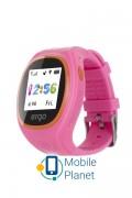 Детские часы с GPS трекером ERGO GPS Tracker Junior Color J010 Pink (GPSJ010P)