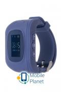 Детские часы с GPS трекером ERGO GPS Tracker Kid`s K010 Dark Blue (GPSK010D)