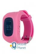 Детские часы с GPS трекером ERGO GPS Tracker Kid`s K010 Pink (GPSK010P)