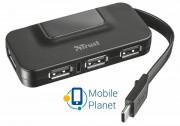 Концентратор Trust Oila USB-C 4P USB2.0 hub (21320)