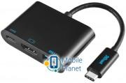 Многопортовый адаптер Trust USB-C Multiport adapter (21260)