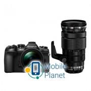 OLYMPUS E-M1 mark II Double Zoom PRO 12-40+40-150Kit B/B/B (V207061BE010)