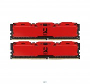 DDR4 2x8GB/3000 GOODRAM Iridium X Red (IR-XR3000D464L16S/16GDC)