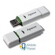 Apacer AH223 4GB Белый/Желтый (AP4GAH223W-1)