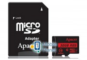 Apacer microSDHC 32GB UHS-I U1+adapter (R85MB/s) (AP32GMCSH10U5-R)