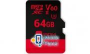GOODRAM microSDXC 64GB IRDM UHS II V60 U3 (R280/W110) (IR-M6BA-0640R11)