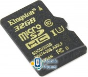 KINGSTON microSDHC 32 Gb UHS-I no ad U3 (R90, W45MB/s) (SDCG/32GBSP)