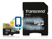Transcend microSDHC 32GB UHS-I U3 MLC (R95,W60MB/s) (TS32GUSDU3M)