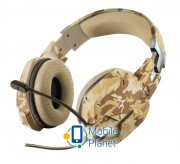 TRUST GXT 322D Carus gaming headset - desert camo (22125)