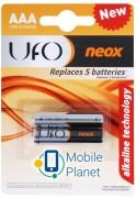 UFO LR03 NEOX 1x2 шт. (LR03 2/BL UFO Neox)