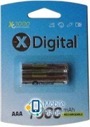 X-Digital HR03 Ni-MH 1000mAh (HR03 1000)