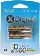 X-Digital HR6 Ni-MH 2500mAh (HR03 2500)
