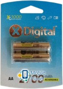 X-Digital HR6 Ni-MH 2700mAh (HR03 2700)