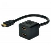 HDMI F to 2xHDMI M DIGITUS (AK-330400-002-S)