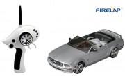 Автомодель р/у 1:28 Firelap IW02M-A Ford Mustang 2WD (серый) (FLP-211G6g)