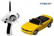 Автомодель р/у 1:28 Firelap IW02M-A Ford Mustang 2WD (желтый) (FLP-211G6y)