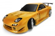Дрифт 1:10 Team Magic E4D Mazda RX-7 (золотой) (TM503012-RX7-GD)