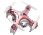 Квадрокоптер нано р/у Cheerson CX-10WD-TX с камерой Wi-Fi (розовый) (CX-10WD-TXp)