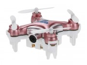 Квадрокоптер нано Wi-Fi Cheerson CX-10W с камерой (розовый) (CX-10Wp)
