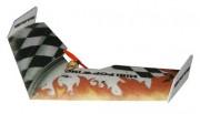 Летающее крыло Tech One Mini Popwing 600мм EPP ARF (черный) (TO-04002B)