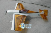Самолёт р/у Precision Aerobatics Katana Mini 1020мм KIT (желтый) (PA-KM-YELLOW)