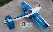 Самолёт р/у Precision Aerobatics Katana Mini 1020мм KIT (синий) (PA-KM-BLUE)