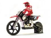 Мотоцикл 1:4 Himoto Burstout MX400 Brushed (красный) (MX400r)